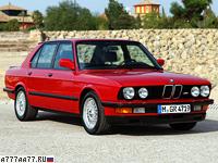 1985 BMW M5 (E28) = 245 км/ч. 286 л.с. 6.9 сек.