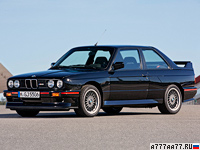 1989 BMW M3 Sport Evolution (E30) = 248 км/ч. 238 л.с. 6.4 сек.