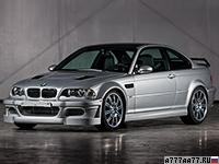 2001 BMW M3 GTR Street (E46) = 300 км/ч. 350 л.с. 4 сек.