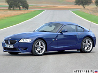 2006 BMW Z4 M Coupe (E85) = 250 км/ч. 343 л.с. 5 сек.
