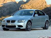 2007 BMW M3 Sedan (E90) = 250 км/ч. 420 л.с. 4.9 сек.