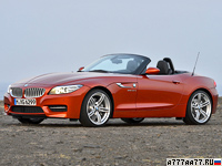 2012 BMW Z4 sDrive35is Roadster (E89) = 250 км/ч. 340 л.с. 4.8 сек.