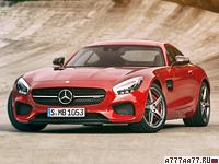 2016 Mercedes-AMG GT S (C190) = 310 км/ч. 510 л.с. 3.8 сек.