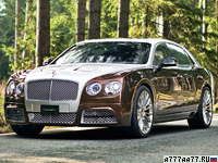 2014 Bentley Flying Spur Mansory = 340 км/ч. 900 л.с. 3.6 сек.