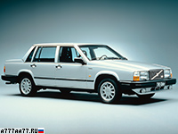 1985 Volvo 740 Turbo = 195 км/ч. 160 л.с. 9.4 сек.