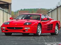 1994 Ferrari F512 M = 315 км/ч. 440 л.с. 4.7 сек.