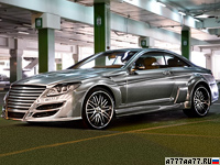 2009 Mercedes-Benz CL 65 AMG Asma Design Phantasma = 330 км/ч. 725 л.с. 3.9 сек.