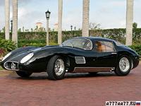 1958 Maserati 450S Le Mans Coupe Fantuzzi = 320 км/ч. 458 л.с. 5.2 сек.