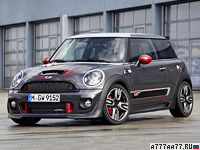 2012 Mini Cooper John Cooper Works GP = 242 км/ч. 218 л.с. 6.3 сек.