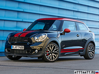 2013 Mini Paceman ALL4 John Cooper Works = 226 км/ч. 218 л.с. 6.9 сек.
