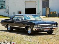 1967 Chevrolet Impala Hardtop Sedan = 200 км/ч. 385 л.с. 7.5 сек.