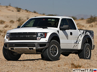 2009 Ford F-150 SVT Raptor SuperCab = 170 км/ч. 415 л.с. 6.8 сек.
