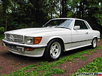 1981 Mercedes-Benz 500 SLC AMG = 240 км/ч. 355 л.с. 6.8 сек.
