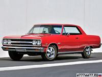 1965 Chevrolet Chevelle Malibu SS 396 = 221 км/ч. 380 л.с. 6 сек.