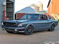 2012 Ford Mustang '66 Ringbrothers Bail Out = 280 км/ч. 609 л.с. 4.4 сек.
