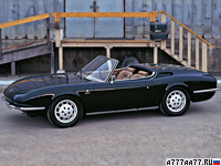 1966 Porsche 911 Roadster Bertone = 211 км/ч. 130 л.с. 8.7 сек.