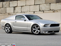 2009 Ford Mustang Iacocca Silver 45th Anniversary Edition = 250 км/ч. 405 л.с. 4.6 сек.
