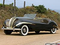 1947 Rolls-Royce Phantom III Labourdette Vutotal Cabriolet = 148 км/ч. 165 л.с. 17.8 сек.
