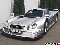 1998 Mercedes-Benz CLK LM Straßenversion (AMG) = 360 км/ч. 608 л.с. 3 сек.