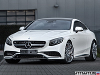 2014 Mercedes-Benz S 63 AMG Coupe IMSA = 300 км/ч. 720 л.с. 3.7 сек.