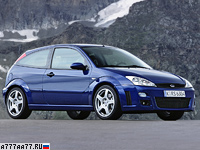 2002 Ford Focus RS = 232 км/ч. 215 л.с. 6.7 сек.