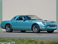 2002 Ford Thunderbird 240 = 241 км/ч. 256 л.с. 7.4 сек.