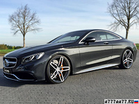 2014 Mercedes-Benz S63 AMG Coupe G-Power = 330 км/ч. 705 л.с. 3.8 сек.
