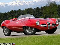 1952 Alfa Romeo 1900 C52 Disco Volante Touring Spider = 220 км/ч. 140 л.с. 7.2 сек.