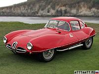 1953 Alfa Romeo 1900 C52 Disco Volante Coupe = 220 км/ч. 140 л.с. 7.2 сек.