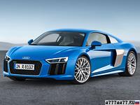 2015 Audi R8 V10 = 323 км/ч. 540 л.с. 3.5 сек.