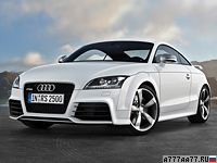2009 Audi TT RS Coupe = 250 км/ч. 340 л.с. 4.6 сек.