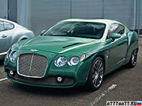 2012 Bentley Continental GTZ Zagato Special Edition = 330 км/ч. 625 л.с. 4.1 сек.