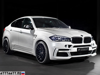 2015 BMW X6 M50d Hamann Widebody (F16) = 280 км/ч. 462 л.с. 4.9 сек.