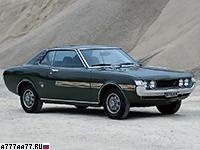 1970 Toyota Celica 1600 GT = 180 км/ч. 115 л.с. 9.9 сек.