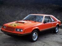 1980 Ford Mustang Turbo Cobra = 195 км/ч. 152 л.с. 8.9 сек.