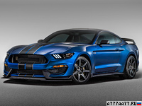 2016 Ford Mustang Shelby GT350R  = 285 км/ч. 533 л.с. 3.9 сек.