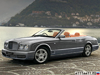 2008 Bentley Azure T = 288 км/ч. 507 л.с. 5.5 сек.