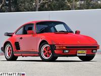 1986 Porsche 911 Turbo Flachbau (930) = 276 км/ч. 330 л.с. 5 сек.