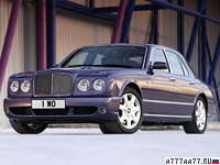 2007 Bentley Arnage T = 288 км/ч. 500 л.с. 5.5 сек.