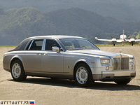 2003 Rolls-Royce Phantom = 240 км/ч. 460 л.с. 6.2 сек.
