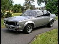 1974 Holden Torana SL/R 5000 L34 Sedan  = 229 км/ч. 354 л.с. 6.9 сек.