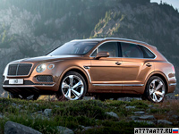 2016 Bentley Bentayga = 301 км/ч. 608 л.с. 4.1 сек.