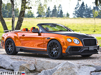 2015 Bentley Continental GTC Mansory = 330 км/ч. 1001 л.с. 3.9 сек.