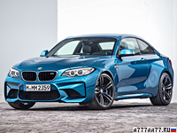 2016 BMW M2 Coupe (F87) = 270 км/ч. 370 л.с. 4.3 сек.