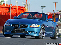 2009 BMW Z4 G-Power G4 EVO III = 300 км/ч. 375 л.с. 4.9 сек.