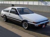 1985 Toyota Corolla GT-S Sport Liftback (AE86) = 206 км/ч. 130 л.с. 9 сек.
