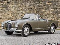 1956 Lancia Aurelia GT 2500 Convertible (B24S) = 172 км/ч. 111 л.с. 12.7 сек.