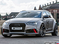 2016 Audi RS6 Avant Prior-Design PD600R Widebody Aerodynamic Kit = 310 км/ч. 670 л.с. 3.7 сек.