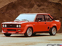 1976 Fiat 131 Abarth Rally = 190 км/ч. 139 л.с. 8.2 сек.