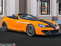 2010 Mercedes-Benz SLR McLaren Roadster MSO Edition 722S = 355 км/ч. 750 л.с. 3 сек.